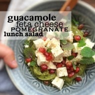 Avocado Feta Lunch Salad Recipe