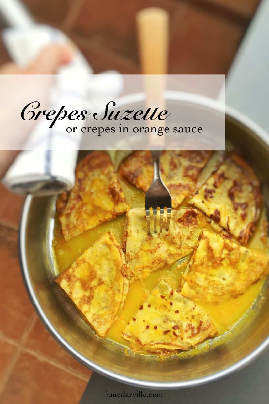 Best French Crepes Suzette Recipe Simple Tasty Good