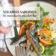 Steamed Sardines Recipe with Oranges