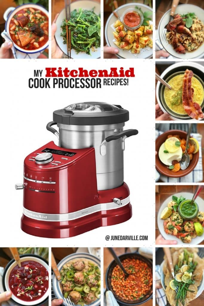 Check out my collection of my personal KitchenAid Cook Processor recipes + a review about how and what to use the Cook Processor for!
