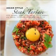 Asian Style Steak Tartare Recipe