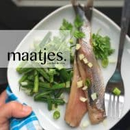 Everything you want to know about maatjes, Dutch new herring and matjes herring! What is it, how do you eat it and what to serve it with...