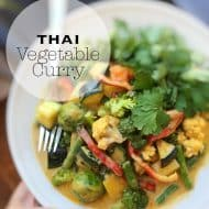 Easy Thai Vegetable Curry Recipe