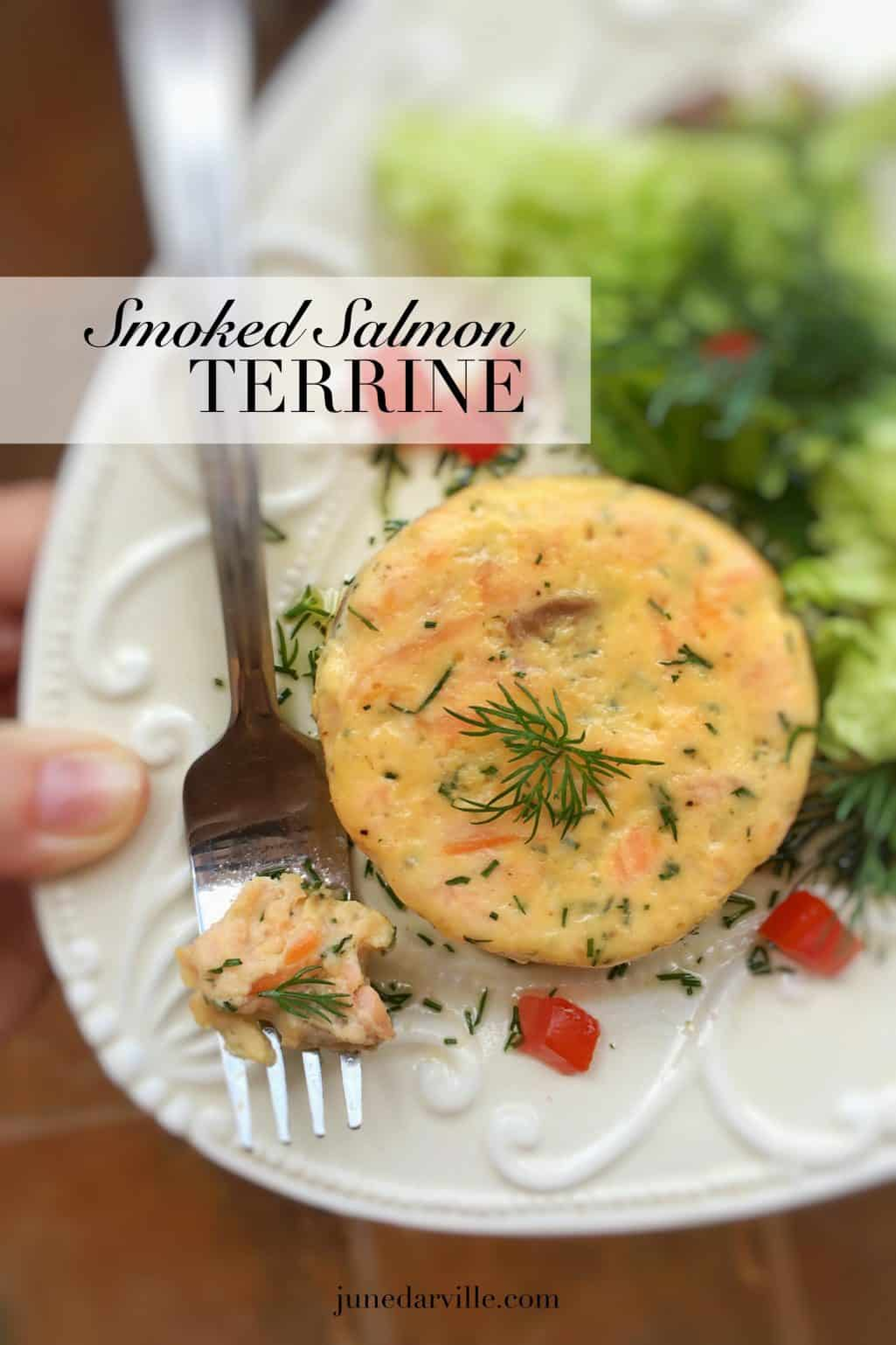 Watch my video of how I'm preparing a smoked salmon terrine in my KitchenAid Stand Mixer Mini! This fish starter is easy to make in advance...