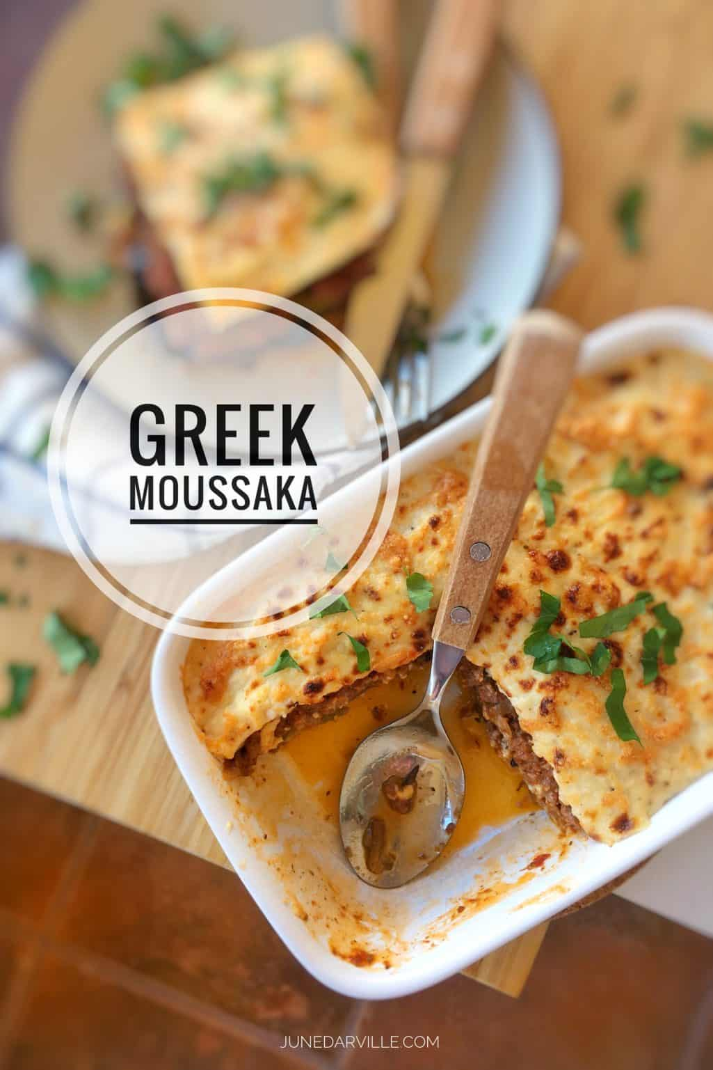 Moussaka Recipe Classic Greek Simple Tasty Good
