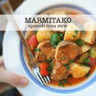 Marmitako (Spanish Potato Fish Stew)