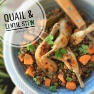 Lentil Stew with Quail Recipe