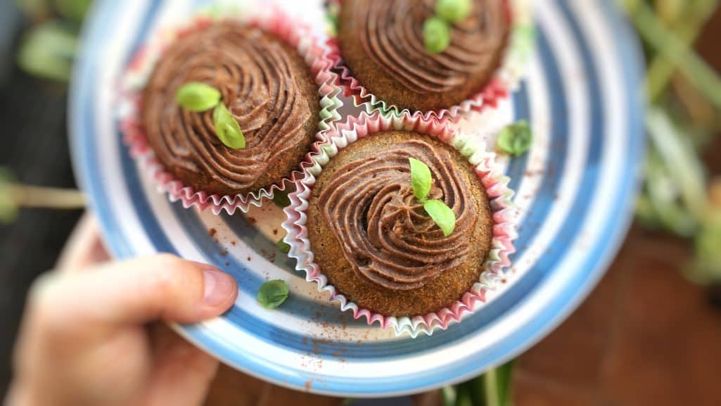 I love sweet chestnut treats! Here's my super easy chestnut buckwheat cupcakes recipe, a fluffly cupcake with buckwheat flour and cinnamon!