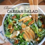 How To Make Caesar Salad Recipe
