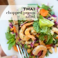 Thai Chopped Prawn Salad Recipe