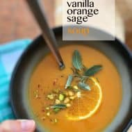 Easy Carrot Soup with Orange & Vanilla