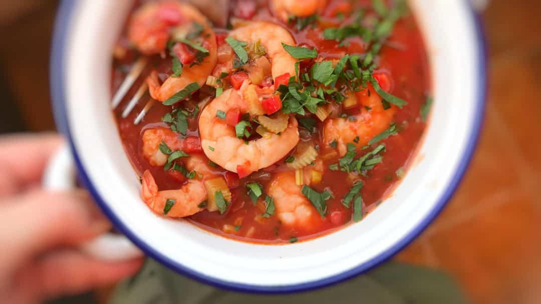 This Shrimp Creole Recipe Is A Dish Of Cooked In Sauce Tomatoes