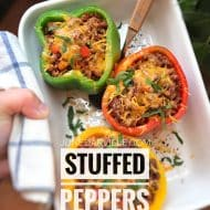 4 (Delicious) Stuffed Peppers Recipes