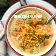 Beer Cheese Soup Recipe from Scratch