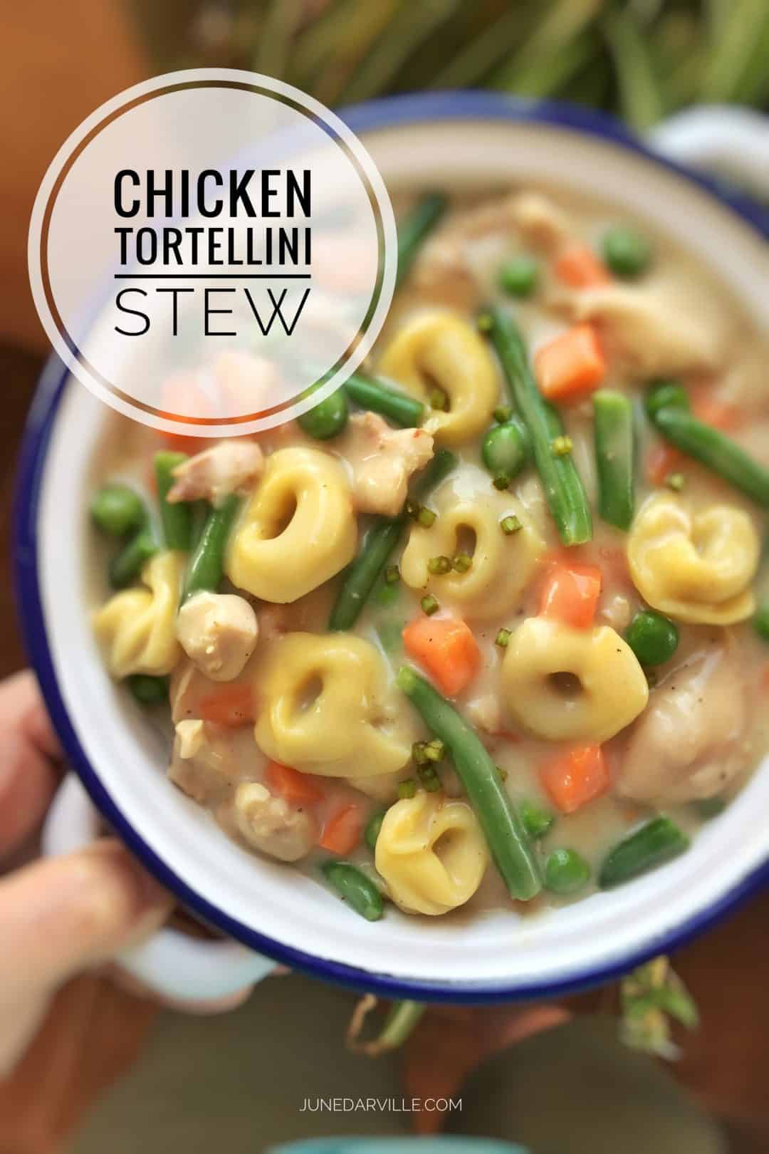Best Chicken Tortellini Stew Recipe