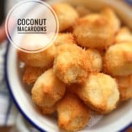 Coconut Macaroons Treats Recipe