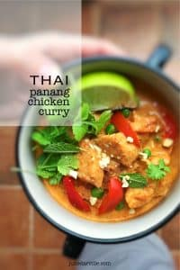Do you love cooking Thai food at home? Then you will definitely adore this Thai classic: creamy chicken panang curry recipe...