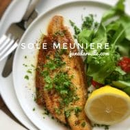 Sole Meuniere Recipe with Butter Sauce