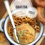 Obatzda (German Beer & Cheese Dip)
