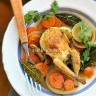 Quail en Escabeche Recipe