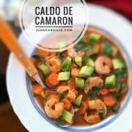 Easy Caldo De Camaron (Mexican Shrimp Soup)