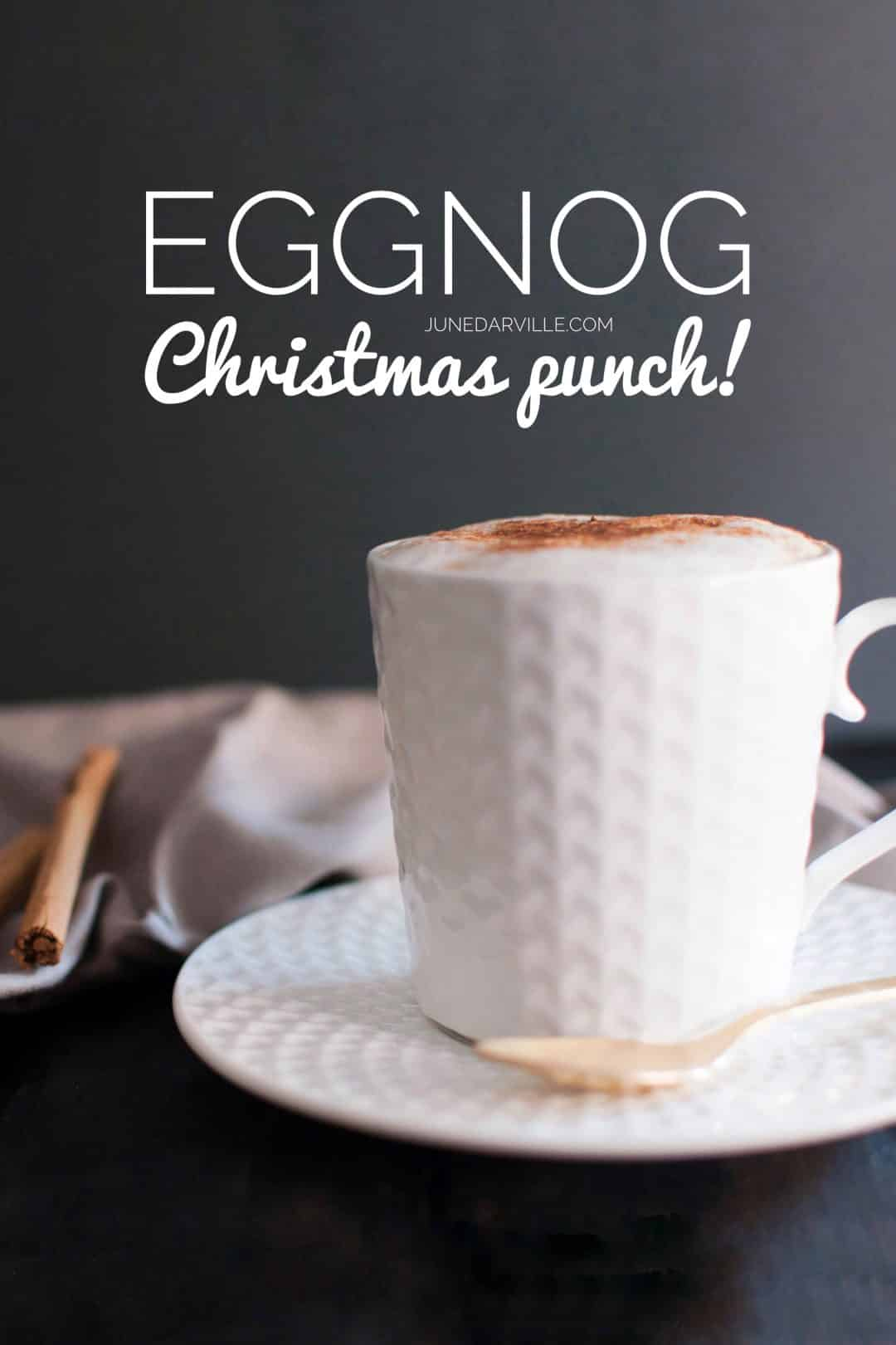 I can't believe how simple this homemade eggnog from scratch turns out to be... Definitely on my recipe list next week for Christmas!