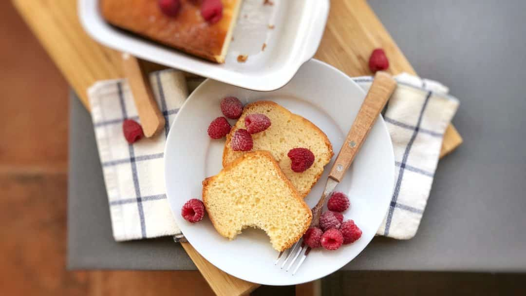 My best recipe for pound cake: there's no cake that is more classic than this one! Easy to prepare with little ingredients... perfect last-minute dessert!