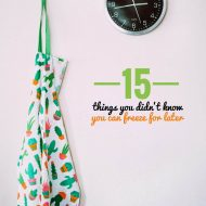 15 Things You Didn't Know You Can Freeze