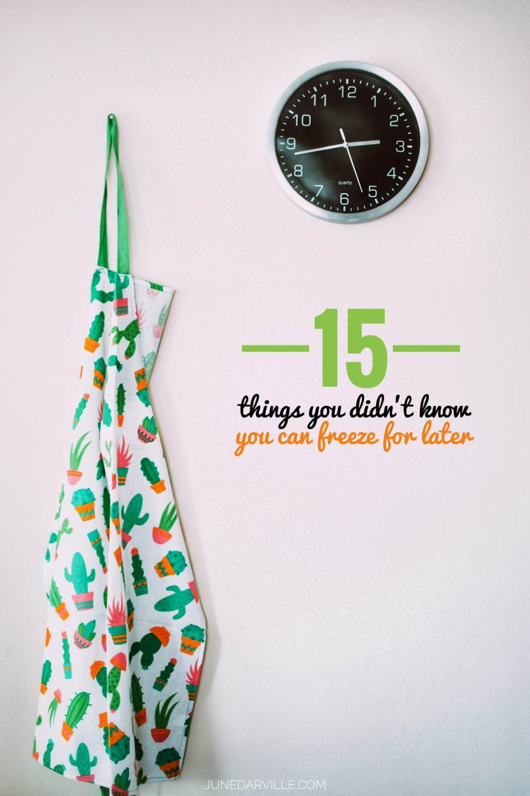 Leaving on a last minute trip? Foods you won't use within a few days but you don't want to throw them out? Here's 20 things you didn't know you can freeze!