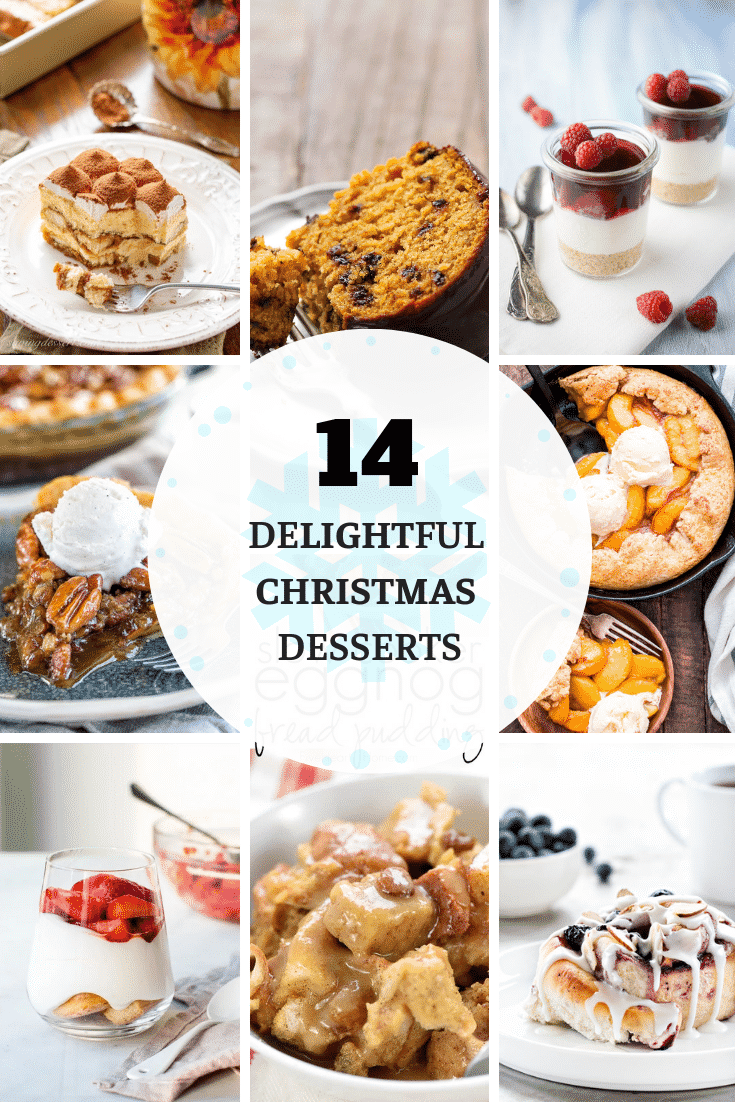 Are you already searching for delicious and inspiring Christmas desserts recipes? Please take a look at these 14 delightful Christmas desserts!