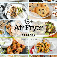 15+ Easy Healthy Air Fryer Recipes