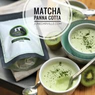 Matcha Green Tea Panna Cotta Recipe